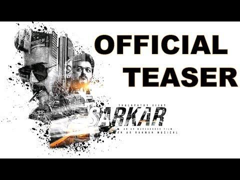 Sarkar : Official Teaser | Thalapathy Vijay | Keerthi Suresh | Vara Lakshmi | Trailer | Songs
