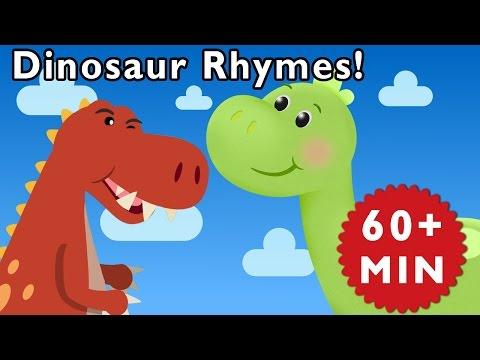 Dinosaur Rhymes | Nursery Rhymes From Mother Goose Club! video