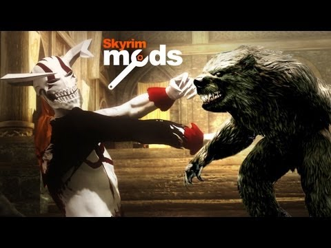 Top 5 Skyrim Mods of the Week - Werebear vs. Vasto Lorde