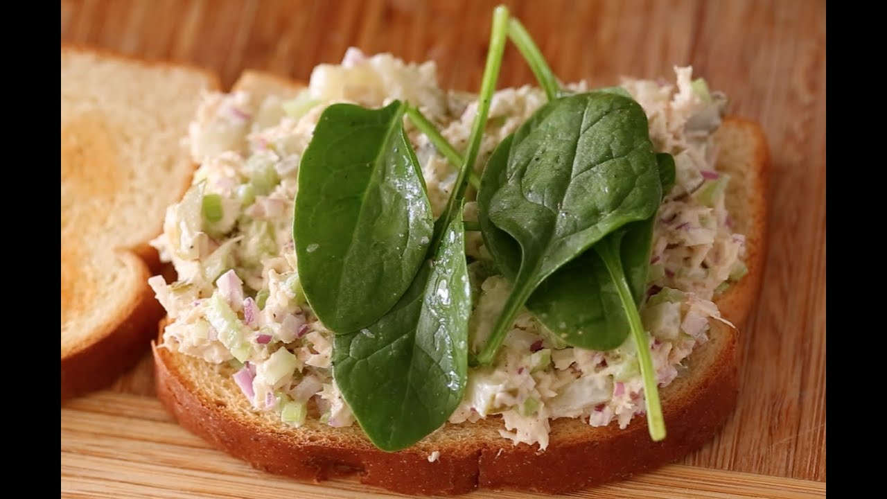 Tuna Salad Sandwich - YouTube