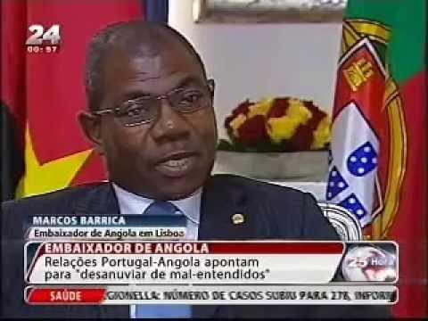 """""""Angola está bem e recomenda-se"""" - Embaixador Marcos Barrica"""