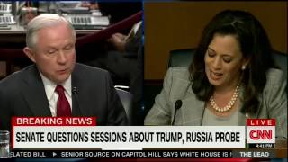 Senator Kamala Harris grills Jeff Sessions on his dubious answers