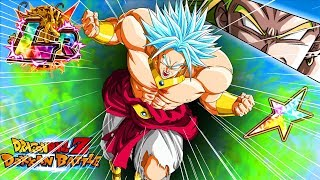FINALLY! First summonable 100% rainbow LR unit! God Broly Showcase!   Dragon Ball Z Dokkan Battle
