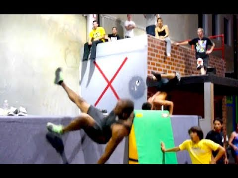 Learning Free Running - Ninja Warrior Training
