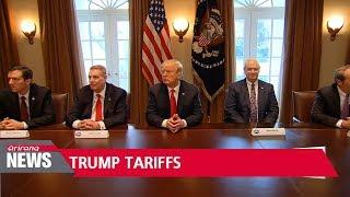 Trump says U.S. to impose steel, aluminum tariffs next week
