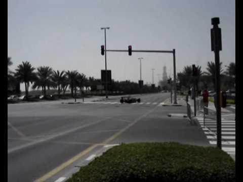F1 McLaren Dubai Streets