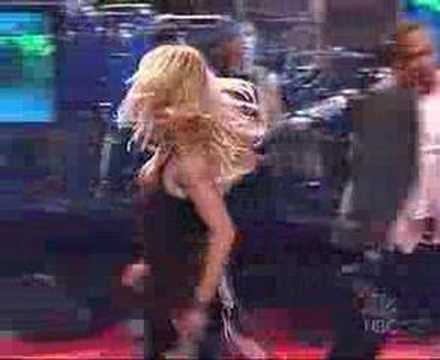 Britney Spears Me Against The Music (live  Jay Leno) video