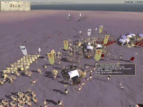 Rome Total War Online Battle #1404: Greece vs Carthage