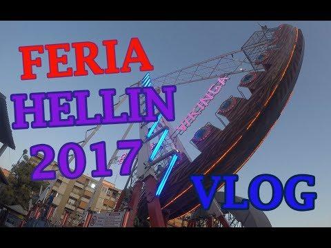 Feria de Hellín 2017 de día - VLOG Atracciones