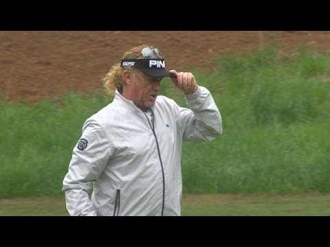Miguel Angel Jimenez leads in debut at the Greater Gwinnett | Highlights