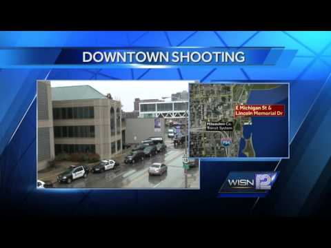 Mayor, police chief say attempted robbery, shooting downtown are rare