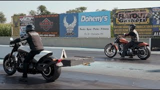 Drag Racing With Cowboy