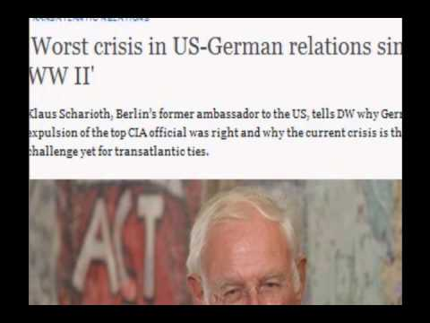 Worst crisis in US-German relations since WW2