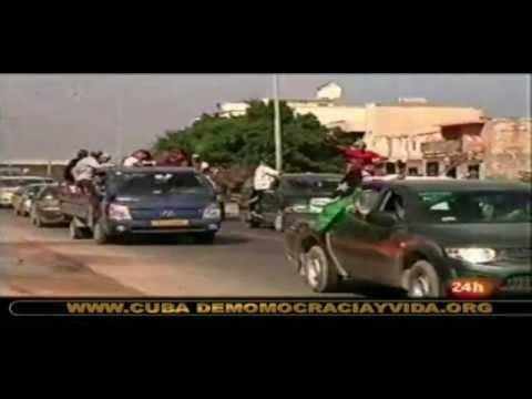 Muamar Gadafi:  Sus Últimos Momentos De Poder. video