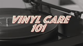 Vinyl Care 101 - How to Clean Your Records, Handle, and Store Them