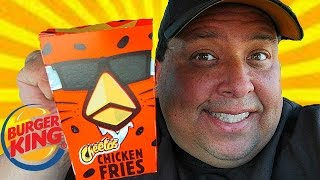Burger King® CHEETOS Chicken Fries REVIEW!