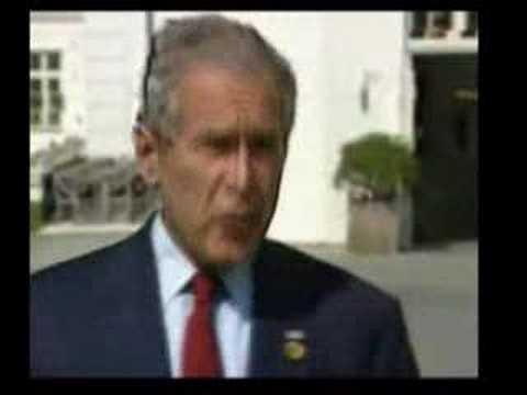 Bush Putin & Gaz problem Буш и Путин - Проблемы с газом