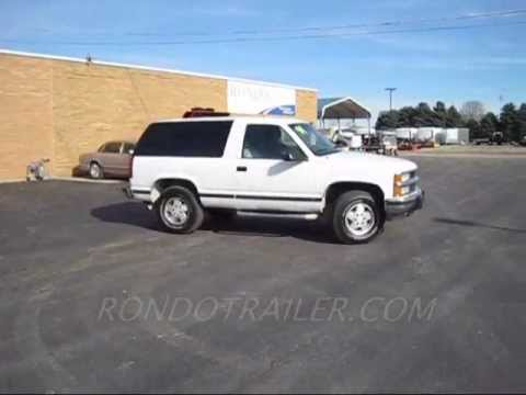 FULL THROTTLE TEST DRIVE! 1994 CHEVY BLAZER 6.5 TURBO DIESEL