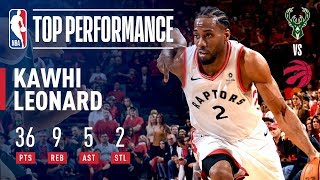 Kawhi Leonard Comes Up Clutch Again! | May 19, 2019