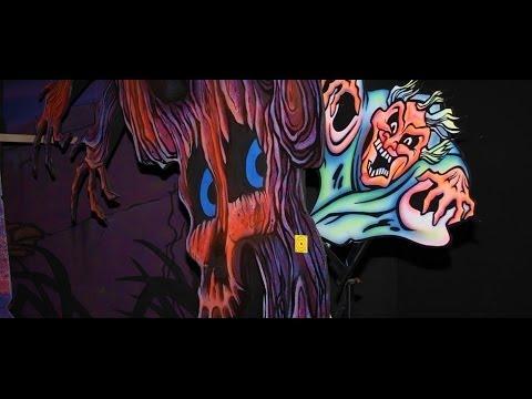 Boo Blasters on Boo Hill Dark Ride POV Carowinds Amusement Park
