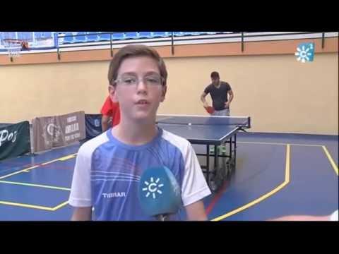 Un Futuro Campeón De Tenis De Mesa En Marmolejo
