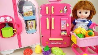 Baby doll refrigerator kitchen toys baby Doli play