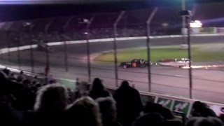 Boat trailer figure 8 race!