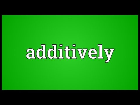 Header of additively