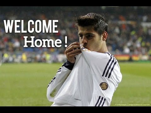 Alvaro Morata - WELCOME Back to Real Madrid 2016 & Goals and Skills(HD)