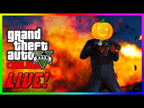 GTA 5 Online LIVE HALLOWEEN SPECIAL - The Scariest & Craziest Races & MORE in GTA 5! (GTA V)
