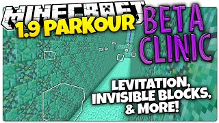 Minecraft 1.9 | BETA CLINIC | Invisible Blocks, Shulker Parkour, & More (Minecraft 1.9 Parkour)