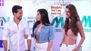 Tiger Shroff with his Beautiful sister krishna Shroff And H0T girlfriend Disha Patani | Red Carpet