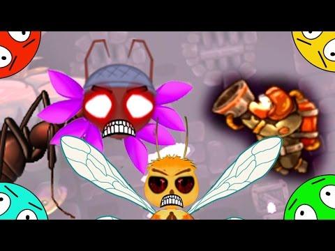 🐾 Погоня на планете зомби лунтиков. Пожарный vs демонов # 18. Мультфильм игра