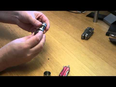 Review of the UD AGI Electronic Cigarette Atomiser - Part 1 - Genesis Mode