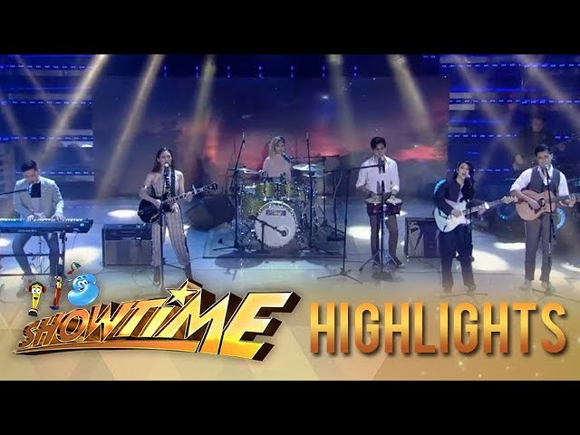It's Showtime: Klarisse, Lala, Jeremy, Marlo and Jayda perform Ben&Ben hits on It's Showtime