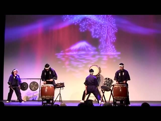 Yakudo group of Taiko drummers - part 2