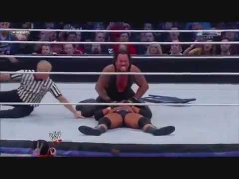 Wrestlemania 27 Undertaker vs Triple H Highlights