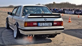 BMW 320i E30 M50 Engine Swap Turbo Sound