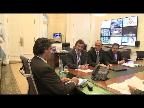 02 de OCT. Jorge Capitanich recibió al Presidente de Edesur.
