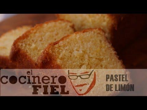EL COCINERO FIEL #466 PASTEL DE LIMÓN