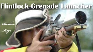 How to build a Flintlock Musket Grenade Launcher. (hand mortar)