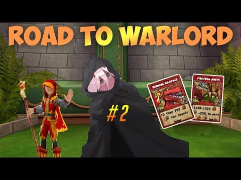 Road to Warlord#2(Max Fire pvp)