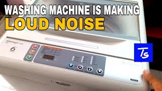 Top Load washer ( Washing Machine) is Making a Loud Noise. Overview and Repair