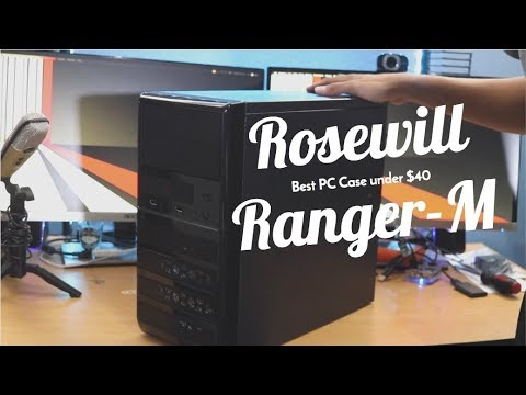 Rowewill Ranger-M Micro ATX Mini Tower Computer Case (Unboxing)