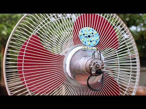 Free Energy Light Bulbs out of Electric Fan thumbnail