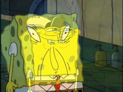 Creepy Spongebob Face Spongebob Pulls Wierd Faces to