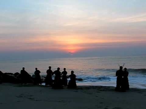 Kenjutsu Training at Sunrise Image 1