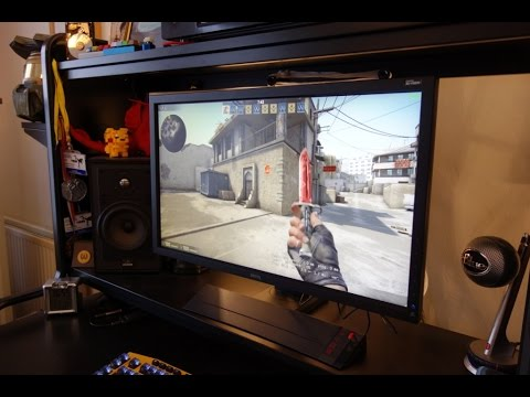 BenQ ZOWIE XL2720 144Hz 1080p gaming monitor review - By TotallydubbedHD