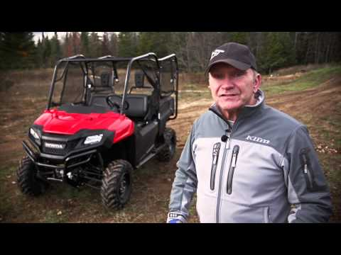 TEST RIDE: 2013 Honda Pioneer 700-4