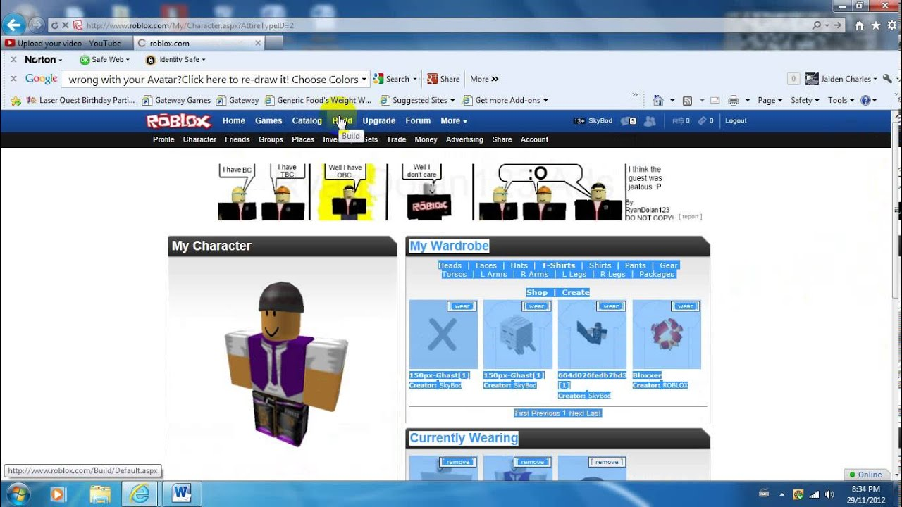 How to make a t shirt on roblox no bc needed youtube for How to make a t shirt on roblox